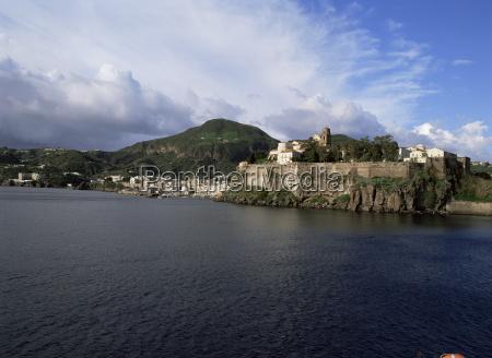 lipari eolian aeolian islands italy mediterranean
