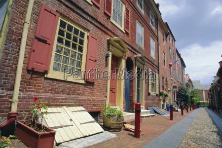elphreths alley in historic philadelphia allegedly