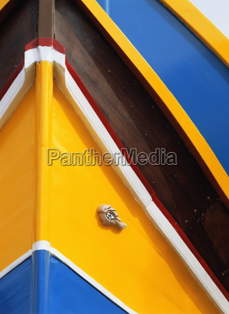 close-up, of, colourful, boat, in, marsaxlokk, - 20590373