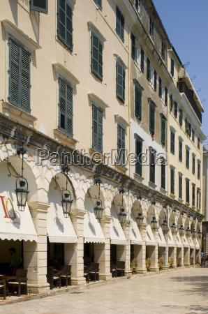 the liston an arcaded street with