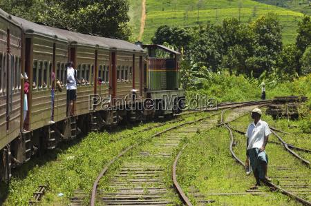 the popular scenic train ride through