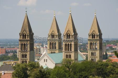the basilica of st peter pecs