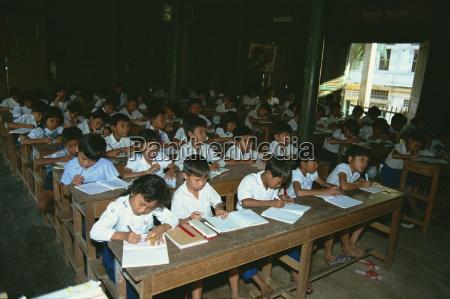 wat school phnom penh cambodia indochina