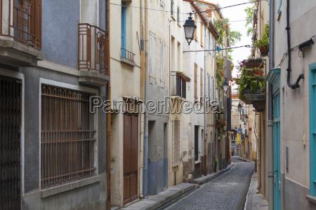 old town streets ceret vallespir region