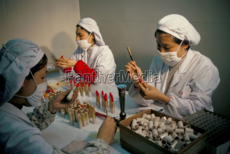 kosmetikfabrik guanzhou provinz guangdong china asien