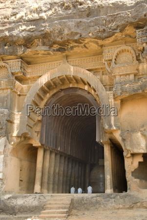 the main open chaitya temple in