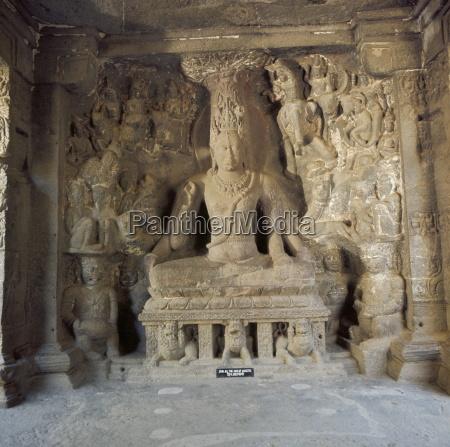 shiva the great ascetic kailasa ellora
