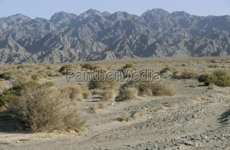 southeast area of the taklamakan desert