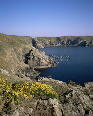 view south to little sark along