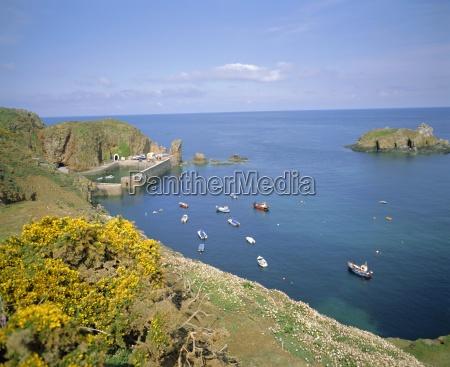 creux harbour sark channel islands uk