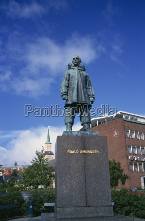 fahrt reisen kunst statue europa norwegen
