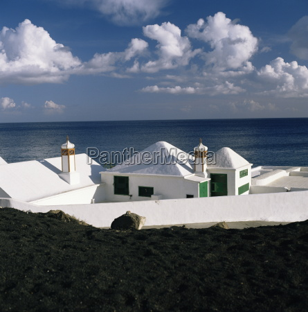beach houses lanzarote canary islands spain