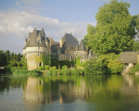 bazouges chateau and the river loire