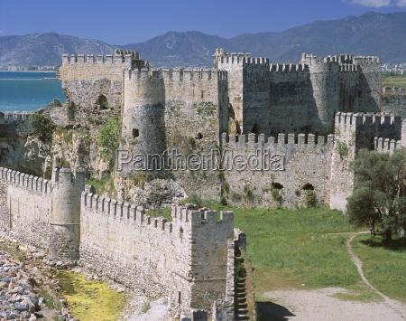 exterior of mamure castle anamur cilicia