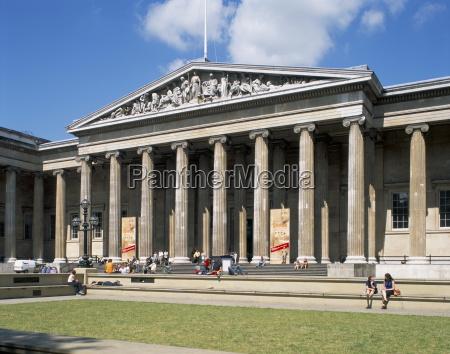 the british museum bloomsbury london england