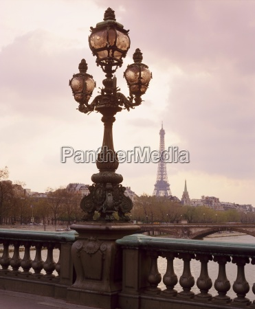 the eiffel tower seen from the