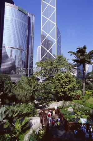 hong kong park central hong kong