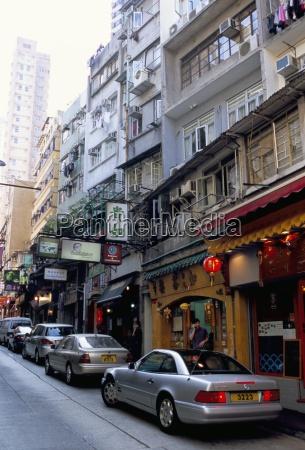restaurant district soho mid levels hong