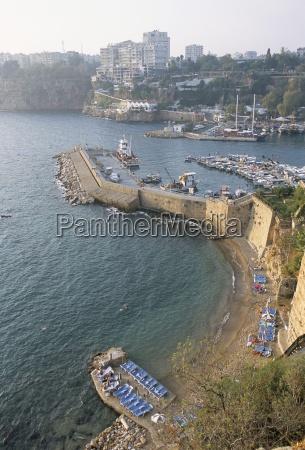 the harbour antalya anatolia turkey asia