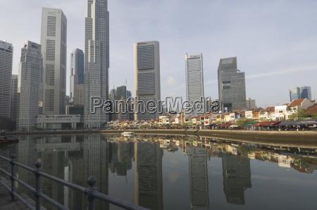 turm stadt farbe asien reflexion malaysia