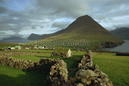 landscape containing dry stone walls and