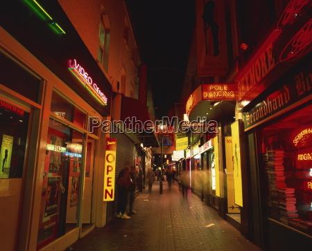 sex butikker soho london england storbritannien