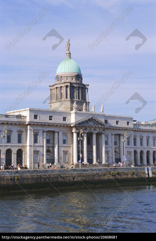 the, custom, house, , dublin, , ireland - 20608681