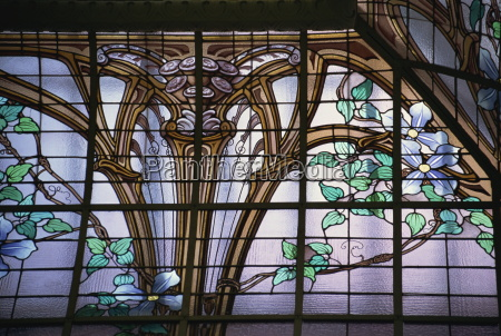 stained glass roof by jacques gruber