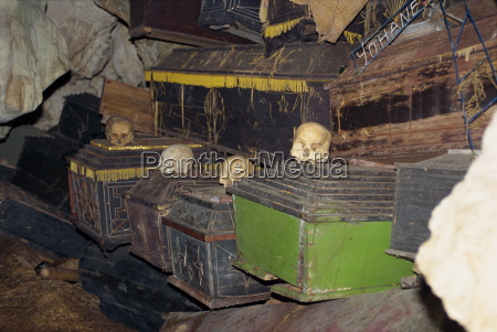cave tomb at londa toraja area