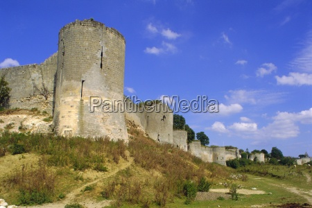 coucy le chateau picardy france europe