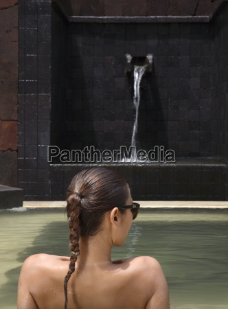 heisser thermalbad im brilliant spa and