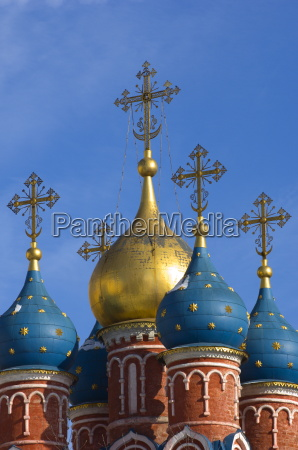 domes of the church of st