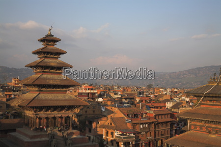 five storey nyatapola temple at 30
