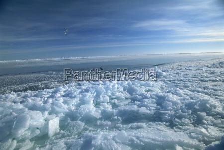 arktis kalt kaelte europa horizontal norwegen