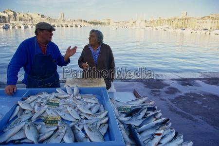 fish market vieux port marseille provence