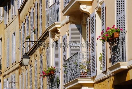 shutters and balconies aix en provence
