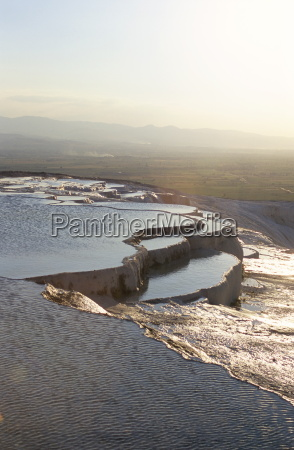 travertine terraces pamukkale unesco world heritage