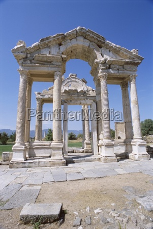 ruins of the temple of aphrodite