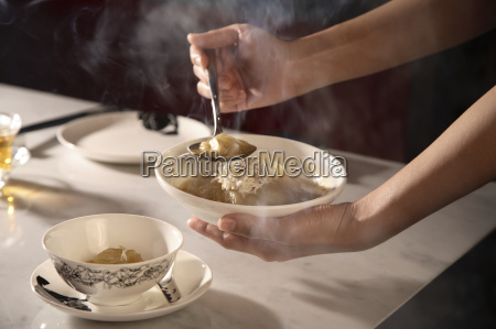 shark fin soup at chinahouse restaurant