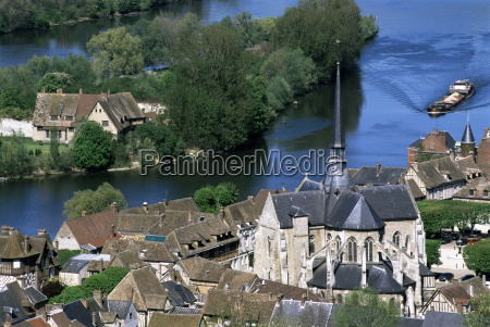 petit andely les andelys and river