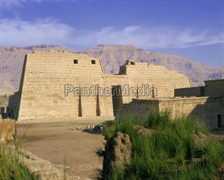 temple of ramesses iii rameses iii