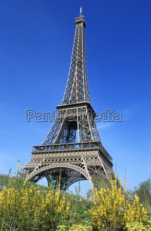eiffel tower paris france europe