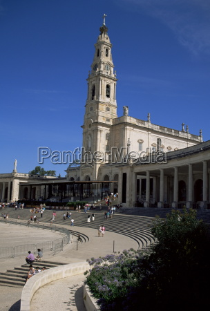 basilica fatima portugal europe
