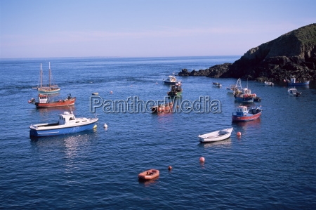 fishing boats sark channel islands united