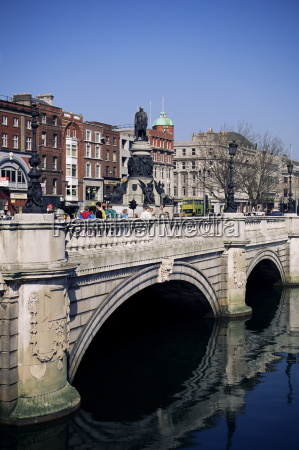 oconnell bridge dublin eire republic of