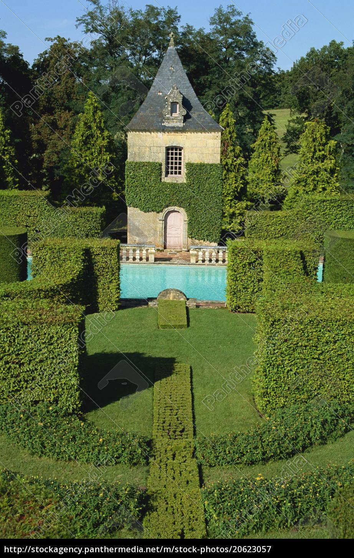 pavillon, de, repos, und, schwimmbad, les, jardins - 20623057