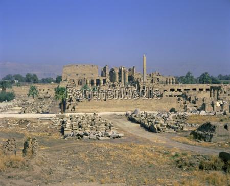 temple of amun karnak thebes unesco