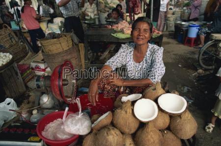 orasey fruit and vegetable market phnom