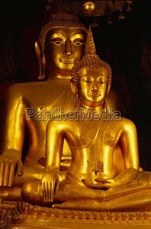 twin, buddha, bilder, die, vorderseite, ist, phra - 20624897
