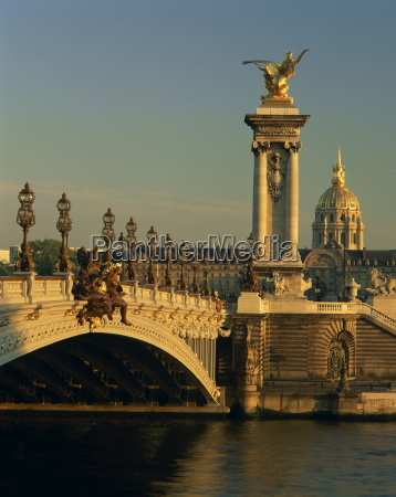 the pont alexandre iii before the